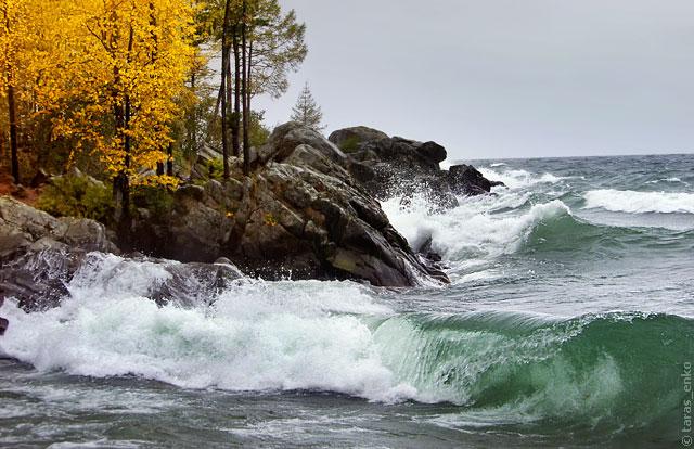 География, озера, самое большое и чистое озеро в мире, и находится оно в России - это озеро Байкал. Самые интересные факты об озере Байкал. Шторм на Байкале тоже не редкость