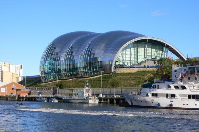 The Sage Gateshead – Музыка сфер – необычный концертный зал, который находится в городе Гейтсхед, Англия.