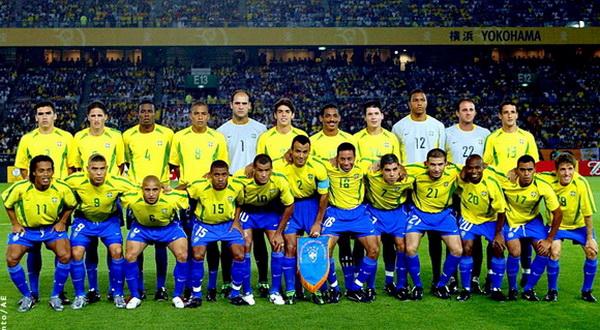 Сборная Бразилии на чемпионате мира 2002