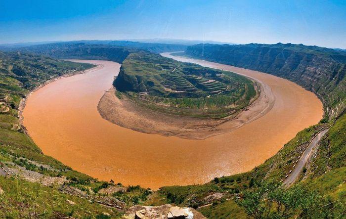 Самые интересные факты о Китае. Река Хуанхэ и Янцзы