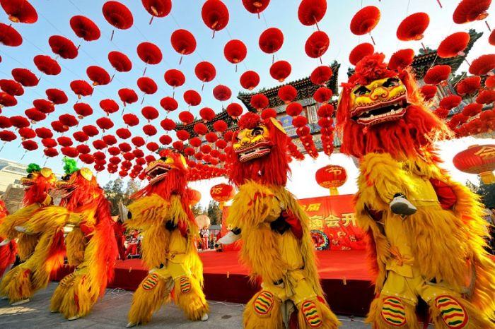 Самые интересные факты о Китае. Красный цвет в Китае - цвет праздника