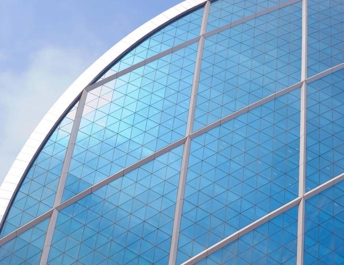 Чудо современной архитектуры - штаб-квартира Aldar Properties в Абу-Даби (ОАЕ). Мир фактов. Архитектура ОАЕ, Абу-Даби. Использование треугольных форм в архитектуре.