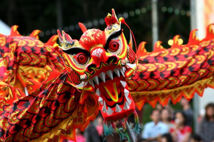 Самые интересные факты о Китае. Дракон в китае - очень почитаемое мифологическое существо