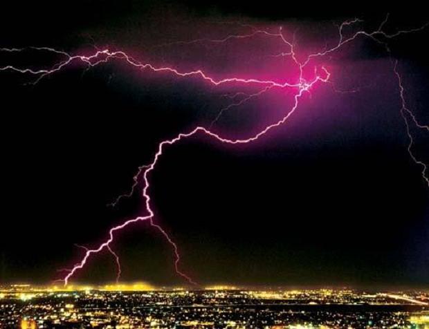 Интересные факты, факты о погоде, молния