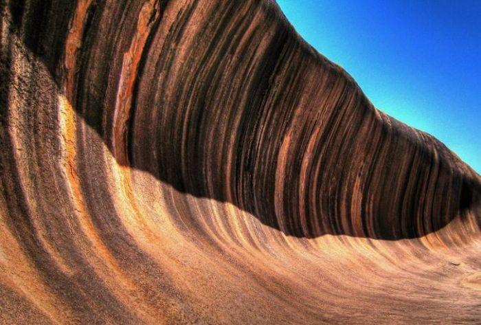 Австралия прекрасная страна, и о ней можно рассказать много интересных фактов. Итак,, самые интересные факты об австралии, скала каменная волна, древняя самая