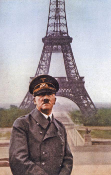 Всем знакомый символ Франции и Парижа - Эйфелева башня. Она была построена в 1989 году. Самые интересные факты об Эйфелевой башне. Адольф гитлер на фоне эйфелевой башни