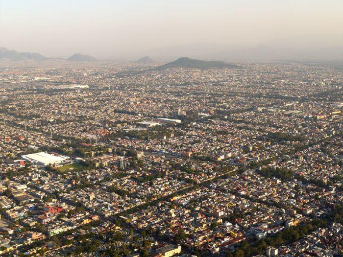 Столица Мексики - город мехико. Самый крупный город
