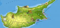 Кипр - это маленькое государство на острове в средиземном море. Самый интересные факты о кипре, остров, море, отдых, туризм