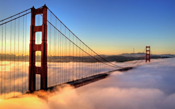 Самые интересные факты о США (Соединенных Штатах Америки). На протяжении многих лет США славится своими необычными законами... Америка. Мост золотые ворота, голден гейт