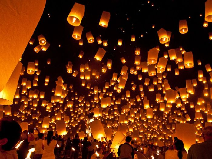 Самые интересные факты о Китае. Китайские фонарики