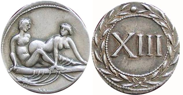 Спинтрии — это древнеримские монеты с изображением полового акта. Эти монеты были сделаны специально, чтобы расплачиваться ими в публичных домах. Древний Рим — одно из самых величайших государств Античности. Самые интересные факты о Древнем Риме