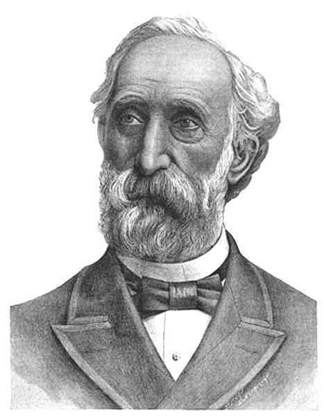 Генрих Гёбель - германский часовщик, представивший в 1854 году в Нью-Йорке первую пригодную для практического применения электрическую лампу накаливания